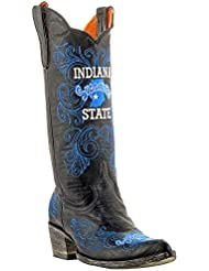 NCAA Indiana State Sycamores Womens 13-Inch Gameday Boots