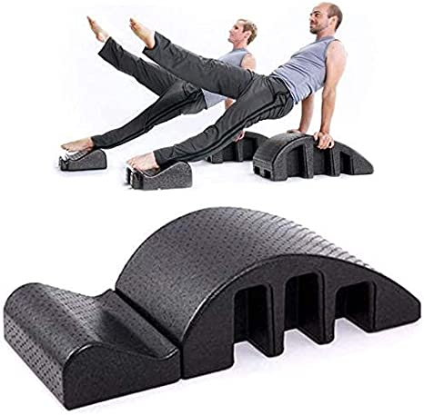 YAJIAN Equipo de fitness de yoga, ortesis de espalda, equipo de aptitud de la corrección de kyphosis, tirantes de kyphosis, arte de alivio de dolor de espalda, artefacto de masaje / código de producto