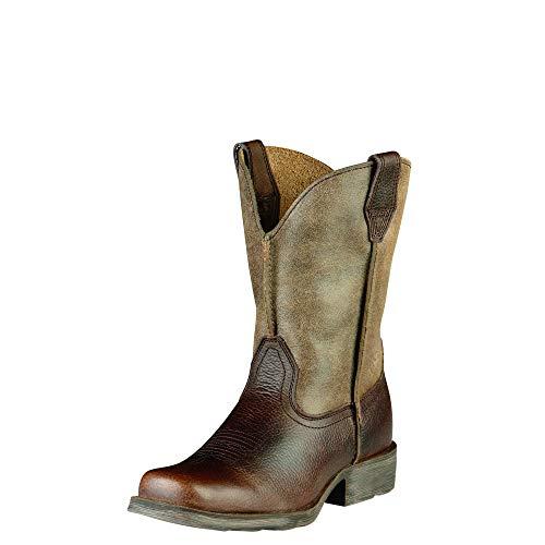 Kids' Rambler Western Boot (Toddler/Little Kid/Big Kid),Earth/Brown Bomber,1.5 M US Little Kid (Ariat Fancy Boots)