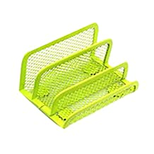 Mesh Collection Business Card Holder Green