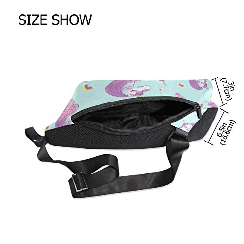 Bennigiry Shoulder Sling Backpack amp; Crossbody Chest Women One Unicorn Bags For Men Bag rXrqwf4