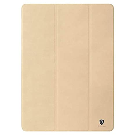 Baseus Leather Flip Stand Cover for Apple iPad Pro 9.7 Inch  Beige