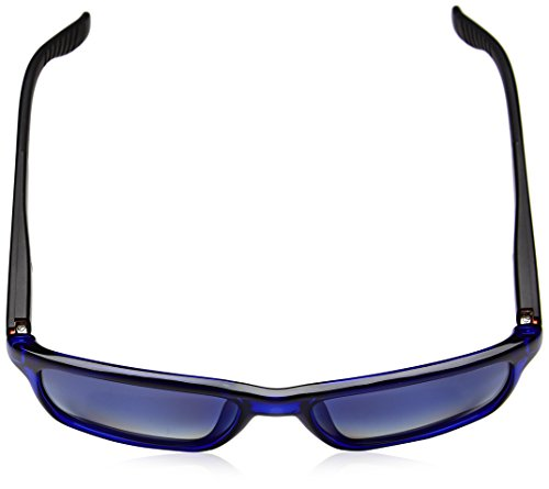 Homme Black De Rectangulaire Lunette Soleil Carrera 8002 Blu fZwnq