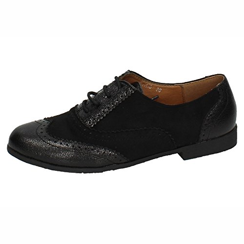 Zapatos ZAPATOP Negros TH118 Mujer Mocasines CORD wrIU0rq