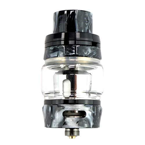 GeekVape Alpha Tank Clearomizer 4 ml, Diameter 25 mm, MeshMellow Coil System Vaporiser for E-Cigarette, black onyx resin…