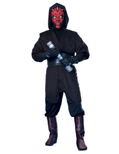 Ideas Maul Darth Costume (Deluxe Darth Maul Adult Costume -)