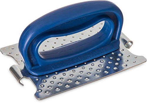 Carlisle 4071200 Sparta Plastic Grill Pad Holder with Blue Handle, 5-1/2'' x 4'' x 2-3/4'' (Case of 10) by Carlisle