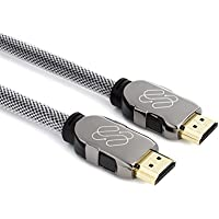 Silverback S6 4k HDMI Cable 15 ft - HDMI 2.0, HDCP 2.2 and 3D support, 4k @ 60hz 4:4:4, Deep Color, by Sewell