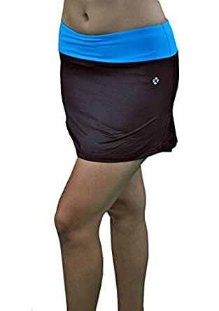 Madison Sport Women's Active Wear Ruffled Skirt/Skort w/Mesh