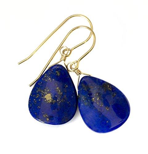 14k Gold Filled Lapis Lazuli E