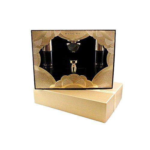Bvlgari Jasmin Noir 4 Pc. Gift Set ( Eau De Parfum Spray 3.4 Oz + 0.84 + Body Lotion 6.8 Oz + Bath & Shower Gel 6.8 Oz ) for Women