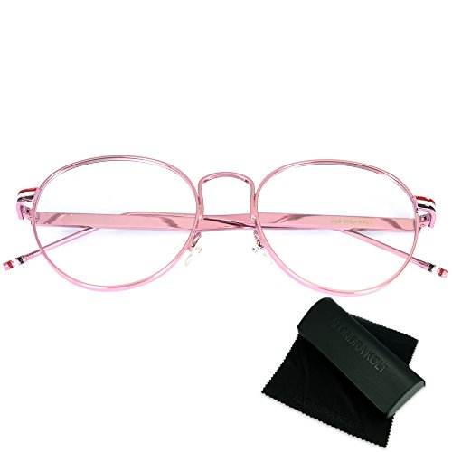 Alondra Kolt The Habitat Round Eye Glasses - Most Men Popular Frames Eyeglass For