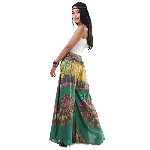 Extrem weite Damen Hippie Ethno Goa Thai Hose Schlaghose 36 38 40 ...