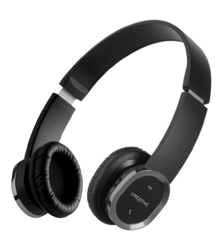 Creative WP-450 Wireless Bluetooth Headphone with Invisible Mic - Creative Labs Over The Ear Headphone