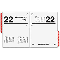 AAGE91950 - At-a-Glance Recycled Compact Desk Calendar Refill