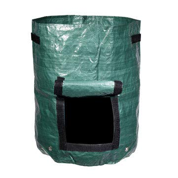 60L Organic Kitchen Composter Waste Converter Bin Compost Storage Garden Planting Seedling Bags - Raw Materials Mesh & Wire Cloth - 1 Pcs Organic Composter