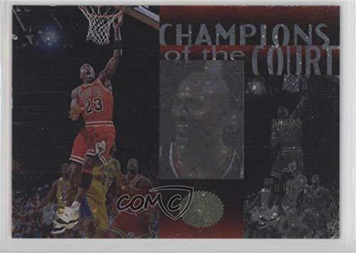 Michael Jordan (Basketball Card) 1995-96 SP Championship Series - Champions of the Court ()