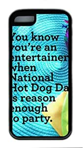 Iphone 5 5s TPU Supple Shell Case Quotes Sayings 6 Black Skin by Sallylotus