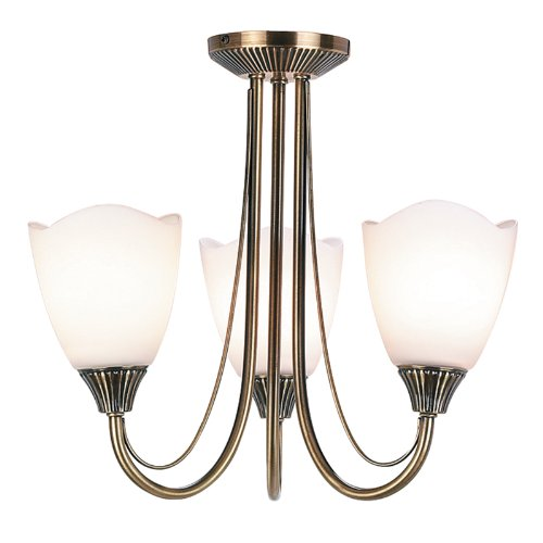 3 Light Mini Chandelier Endon 601-3AN