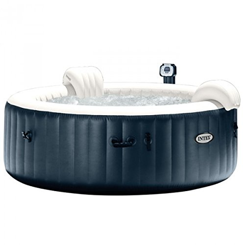 Pack Spa hinchable Intex Pure Spa Plus burbujas 4 personas + ...
