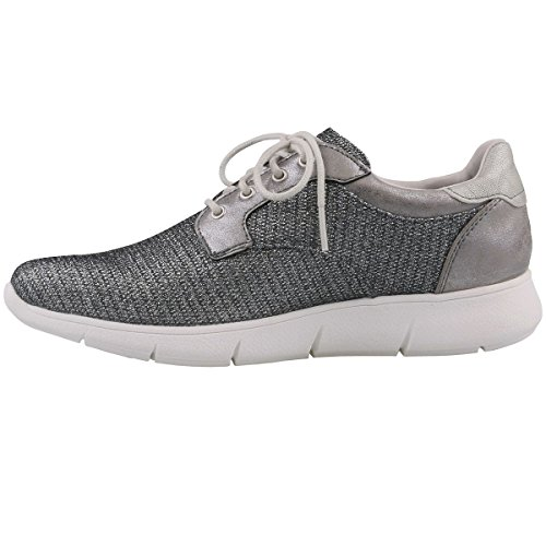 Flats up Silber Lace Mustang 1242 Womens 301 XwxfFngIq0