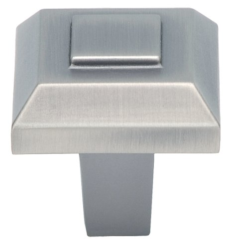 Atlas Homewares 283-P 1-Inch Trocadero Small Knob, Pewter