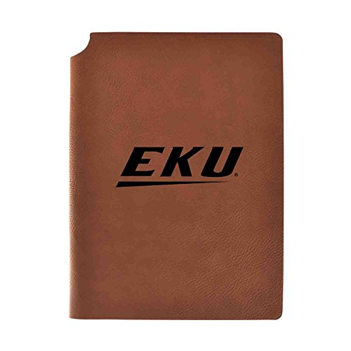 1/2 College Rule 80 Sheets - Eastern Kentucky University Velour Journal with Pen Holder|Carbon Etched|Officially Licensed Collegiate Journal|