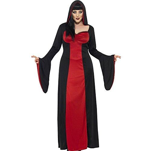 [Smiffys Women's Plus-Size Dark Tempress Costume] (Horror Halloween Costumes For Women)