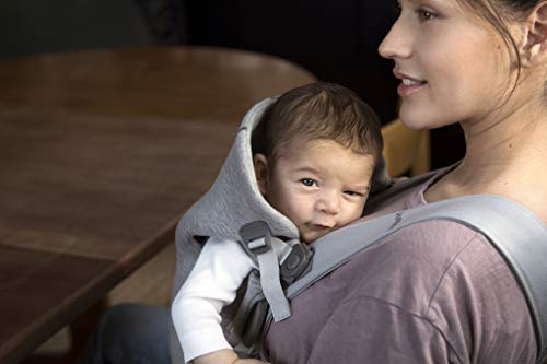BABYBJORN Baby Carrier Mini in 3D Jersey, Light Grey by BabyBjörn (Image #6)