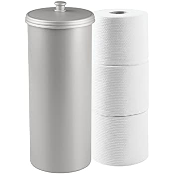Free Standing White Toilet Paper Bathroom