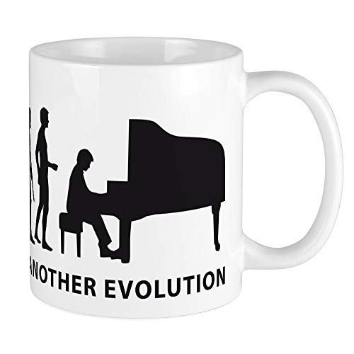 CafePress Evolution Piano Mug Unique Coffee Mug, Coffee Cup