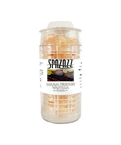 Spazazz SPZ-351 Warm French Vanilla Calm Instant Aromatic Escape Beads Jar, 1/2 oz by Spazazz (Image #2)