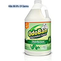 OdoBan Disinfectant Odor Eliminator and All Purpose Cleaner Concentrate, 1 Gallon, Original Eucalyptus, 1 Pack