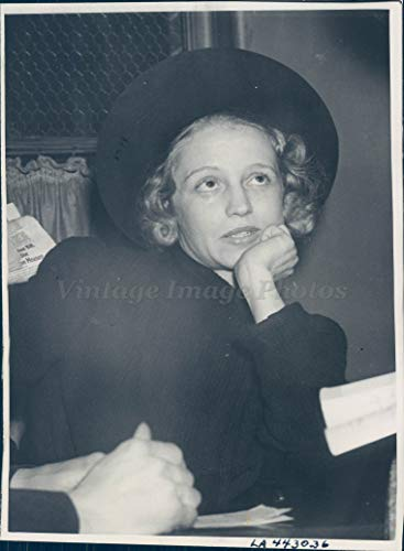Vintage Photos 1938 Photo Mrs Florence Orr Beverly Hills Real Estate Dealer Kidnaping Crime CA (Estate Wall Florence)