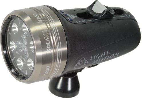 Light and Motion Sola Video Light (1200-Lumens, Silver) by Light and Motion