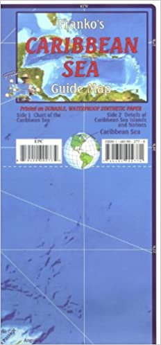 National Map Centre Caribbean Map & Guide: National Map Centre: 9780783420158: Amazon