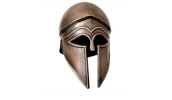 Italo romano griego de acero Corinthian casco nuevo: Amazon.es: Deportes y aire libre