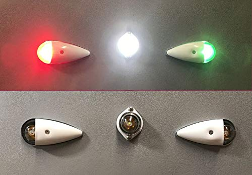 Aircraft LED Position Bulb Replacements (Set of 3) Aero-Lites 10-30VDC ()