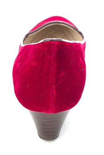 Cole Haan Escarpins pour Femme Rouge Velours JUkwTyxXCh