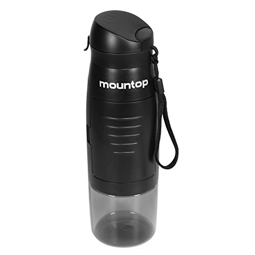 mountop Best Bike Water Bottle with Storage for Camping Hiking Cycling Creative & Multifunctional