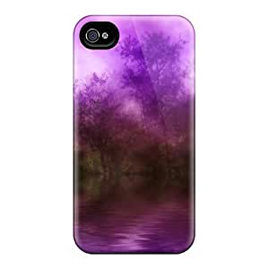 New Mycase88 Super Strong Purple Haze Over Fantasy Lake Cases Covers For Iphone 6