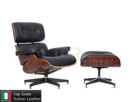 Astonishing Lounge Chair And Ottoman Eames Replica Black Leather Camellatalisay Diy Chair Ideas Camellatalisaycom