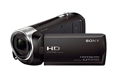 Sony HD Video Recording HDRCX405 HDR-CX405/B Handycam Camcorder (Black) + 64GB