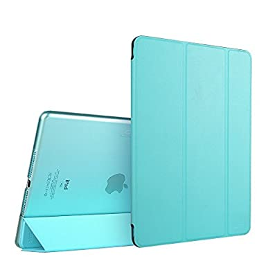 iPad Air 2 Case, ESR Smart Case Cover with Trifold Stand and Magnetic Auto Wake & Sleep Function for iPad Air 2 / iPad 6th Generation (Sky Blue)