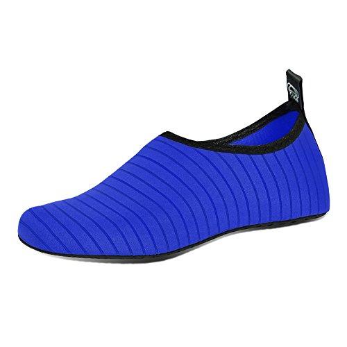 Scarpe Da Donna Da Donna Scarpe Da Spiaggia A Piedi Nudi Scarpe Da Spiaggia Quick-dry Aqua Yoga Per Il Nuoto In Acqua Blu