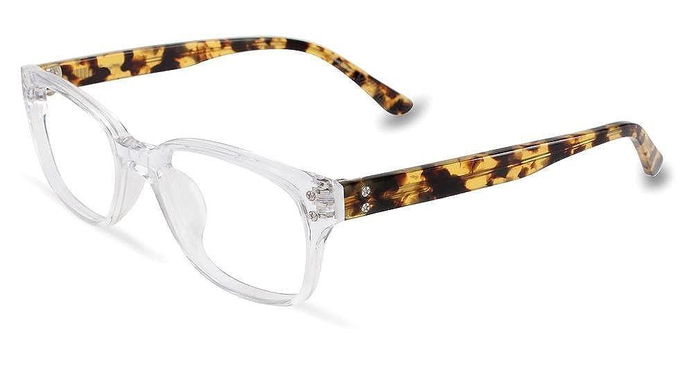 52//19//145 P014 UF Crystal Converse Rx Eyeglasses