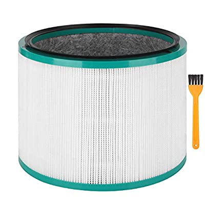 Colorfullife Desk Purifier Replacement Filter for Dyson Desk Purifiers for Dyson Pure Cool Link Desk Air Purifier. (Part Numbers: 305214-01, 308033-01, 308034-01, 309423-01, 308404-01)