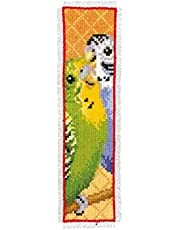 Counted Cross Stitch Bookmarks Reading Hand Embroidery Bookmark DIY Easy Printed Starter Cross-Stitch Kits