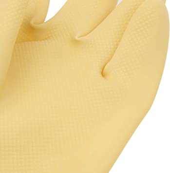 23.6 Latex Rubber Gloves Work Safety Rubber Gloves Baosity Extra Long 60cm