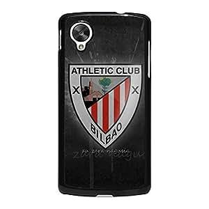 Contract Design FC Pattern Athletic Team De Bilbao Phone Case for Google Nexus 5 Bilbao City Cover Case